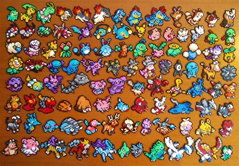 Pokmon Hama Mini Beads By Pumonepixelart Perler Beads