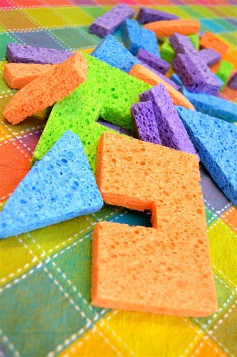 sponge blocks  child fun