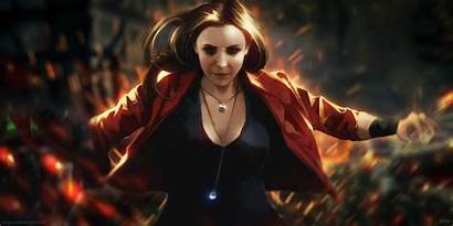 Witch Scarlet Artwork Wallpapers 8d Maximoff 4k
