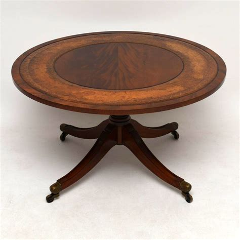 mahogany coffee table regency style mahogany leather coffee table la56469 4899