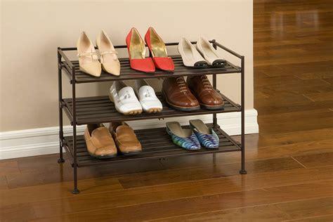 the shoe rack seville classics resin wood composite utility shoe rack