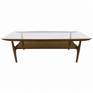 Mid century modern coffee table at 1stdibs for Mid century coffee table set