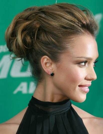hair up styles images chignon alba 8198