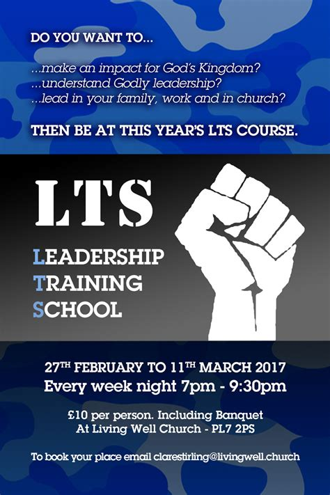 leadership training school  living  church