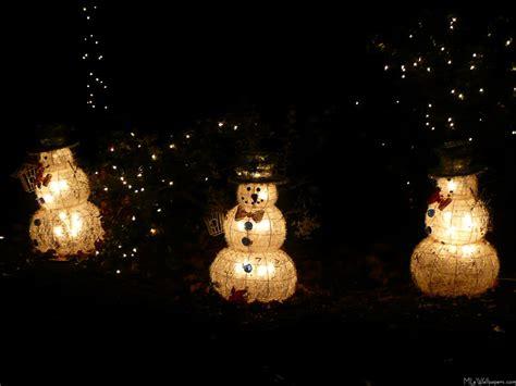 mlewallpapers com light up snowmen