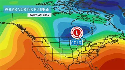 Polar Vortex Climate Change Salju Musim Dingin