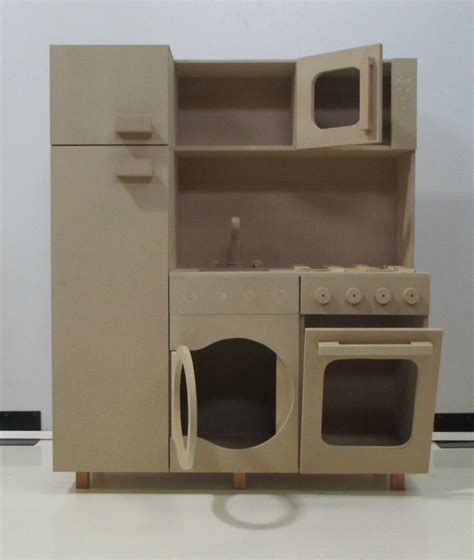juguetes de madera  ninos cocina nevera lavadora