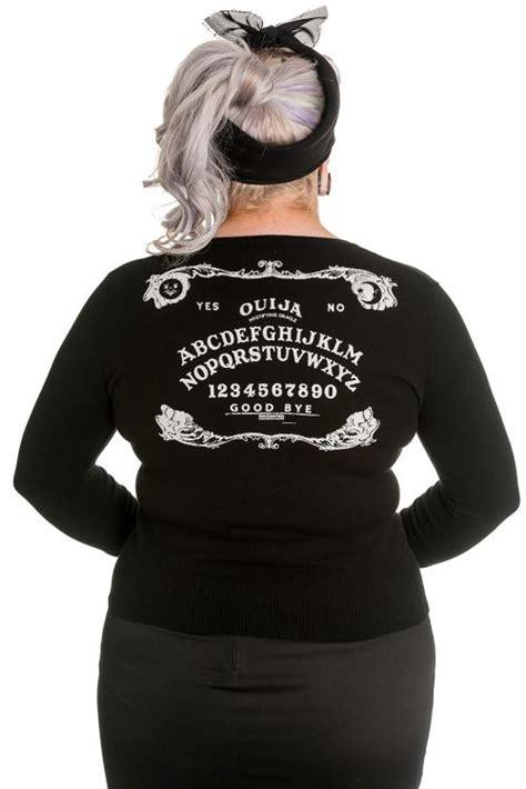 Domino Dollhouse - Plus Size Clothing Ouija Cardigan | Hell Bunny Clothing | Pinterest | Ouija ...