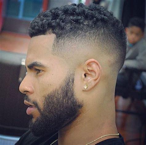 ideas  mens haircuts  pinterest black men haircuts blowout haircut  fade haircut