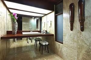 12 idees deco de salle de bains dans un style tropical With salle de bain design avec décoration soirée tropicale