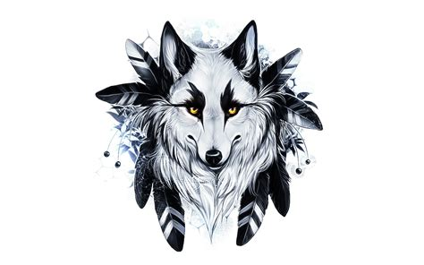 Abstract Wolf Wallpaper Hd by Wolf Hd Wallpaper Background Image 1920x1200 Id