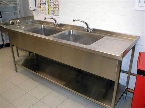 Multiple Tub Commercial Kitchen Sink — Home Ideas