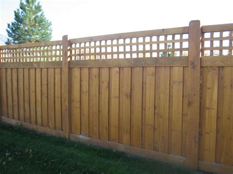 fence ideas wood fence designs pictures and ideas