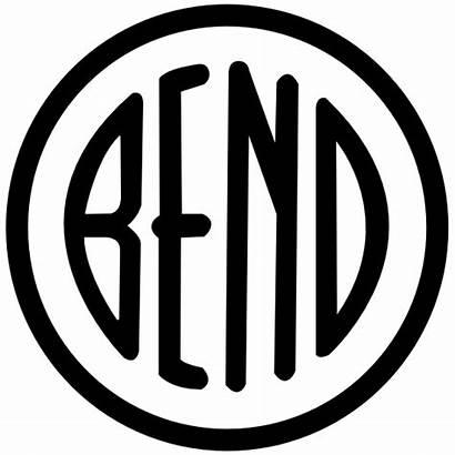 Oregon Bend Circle Sticker