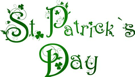 st pats day date happy st s day