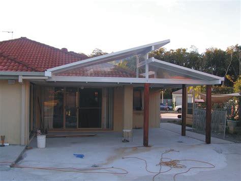 skillion roof carport goldcoastbrisbanesolarspan