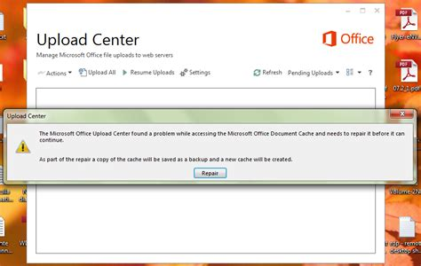 Office Upload Center by Onedrive Broken Again After Office October 2014 Cumulative
