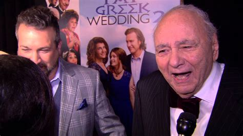 michael constantine interview my big fat greek wedding 2 michael constantine red carpet