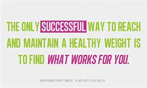 inspirational weight loss quote | Tumblr
