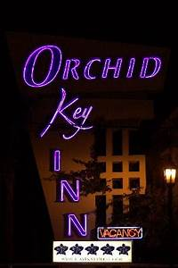Neon Nights Picture of Orchid Key Inn Key West