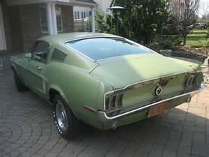 """1968 Mustang Fastback Original 147k """"C"""" code 289 A/C P/S ..."""
