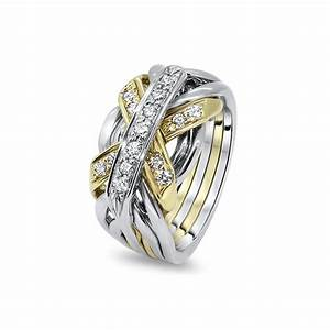mens gold diamond 7jg md puzzle rings creations With mens puzzle wedding rings