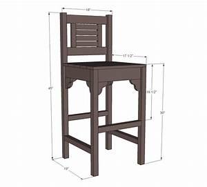 vintage bar stools woodworking plans