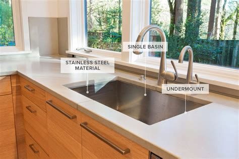 types of kitchen sinks a guide to 12 different types of kitchen sinks 6454
