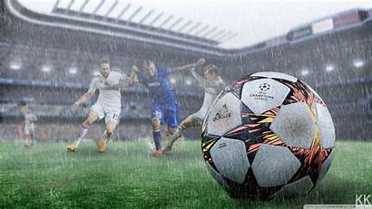 Football Wallpapers 4k Rain 1080p Desktop Soccer