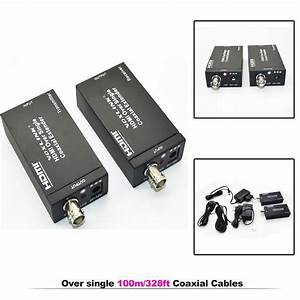 HDMI Over single 100m/328ft Extender Coaxial IR wireless ...
