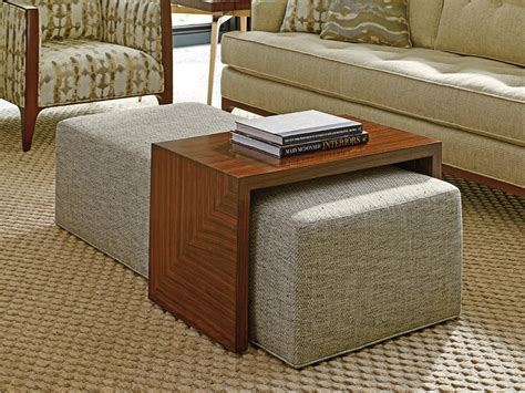 You can choose a big rectangular coffee table with glass top in addition to any living organism or living room. 30 Beautiful Ottoman Coffee Tables To Maximise Your Lounge Space