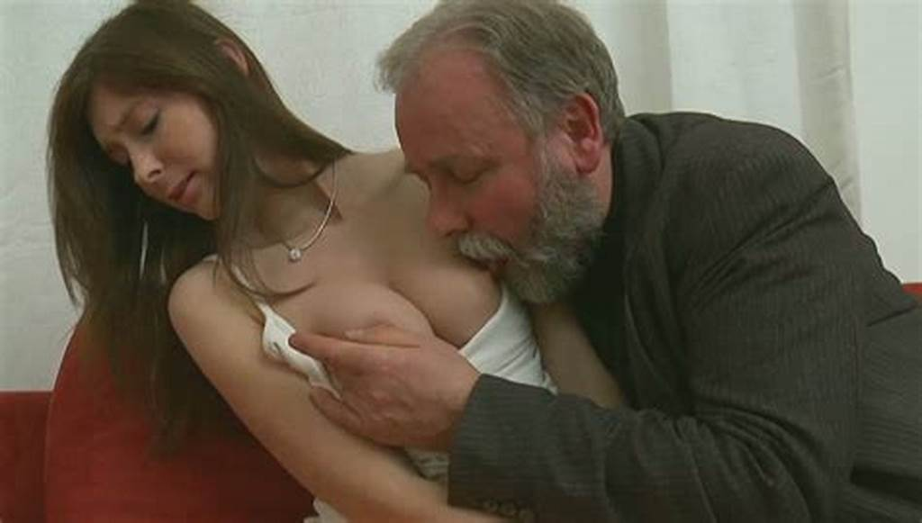#Dirty #Old #Man #Licks #Juicy #Pussy #Of #His #Grandson'S #Girlfriend