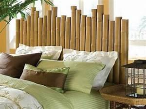 Tete De Lit Bambou : du bambou d co pour un int rieur original et moderne d couvrir ~ Teatrodelosmanantiales.com Idées de Décoration