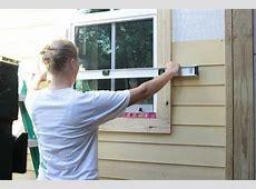Volunteers Needed Hardie Siding Installation