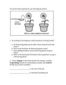 Experimental Design Worksheet Answers Experimental Design Worksheet Scientific Method Answer Key Davezan