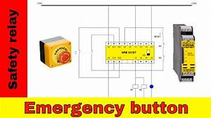 Wiring Safety Relay Srb301 And Emergency Stop