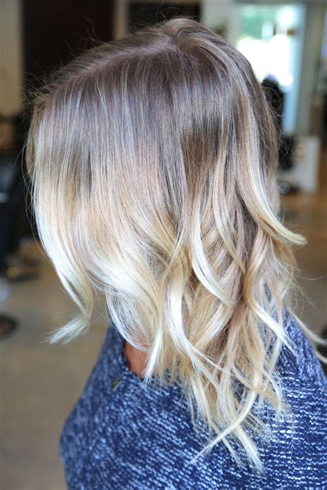 Light Blonde Ombré Cool Shit To Do To My Hair