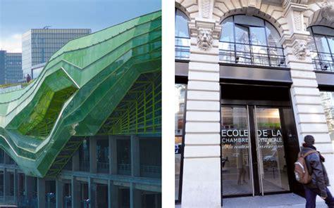 ecole de la chambre la grande école de mode parisienne est sur les rails