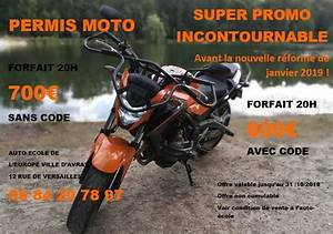 Reforme Permis Moto 2018 : promo permis moto ~ Medecine-chirurgie-esthetiques.com Avis de Voitures