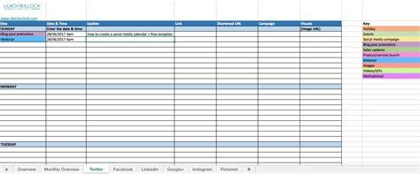 Social Media Calendar Template How To Create A Social Media Calendar Free Social Media