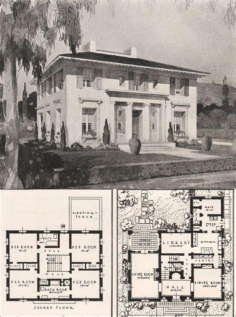 italian renaissance style house francis pierpont davis