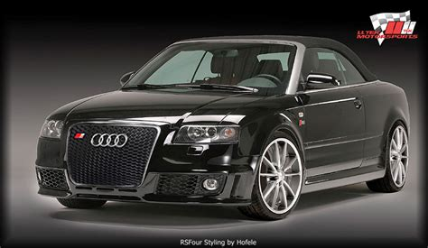 Rs4 Body Kit Styling  Audi A4 8h Cabriolet Performance