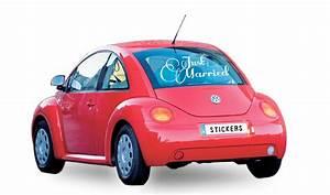 Autocollant Personnalisé Pour Voiture : decoration voiture pour mariage avec un stickers ~ Voncanada.com Idées de Décoration
