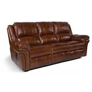 Flexsteel Power Reclining Furniture by Dandridge Reclining Leather Sofa 1351 62 Flexsteel