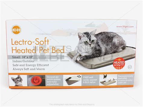 Kh Pet Bed Warmer by K H Lectro Kennel Outdoor Indoor Heated Cat Pet Bed