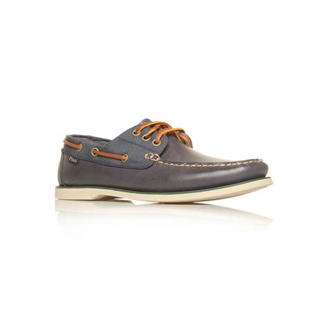 Navy Polo Boat Shoes by Polo Ralph Bienne Boat Shoes In Blue For Navy
