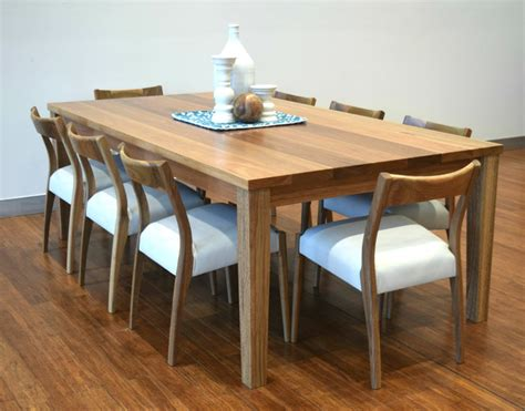 spotted gum forbes table with newport chairs