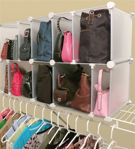 Diy Purse Organizer Closet  Home Design Ideas