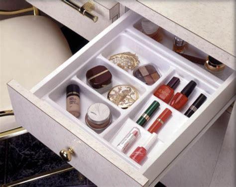 cosmetics organizer for bathroom vanity by gold