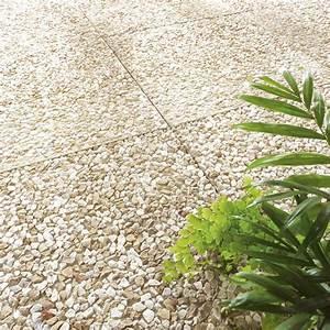 Dalle En Béton : dalle gondre en b ton jaune x cm x ep 36 mm ~ Nature-et-papiers.com Idées de Décoration